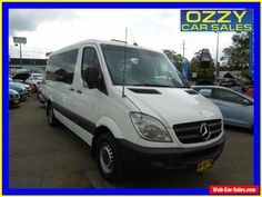 2008 Mercedes-Benz Sprinter 906 315 CDI MWB White Automatic 5sp A Van #mercedesbenz #sprinter #forsale #australia
