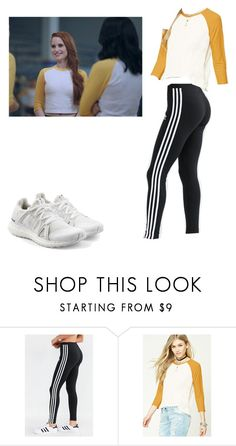 Cheryl Blossom by raozerova on Polyvore featuring мода, Forever 21 and adidas