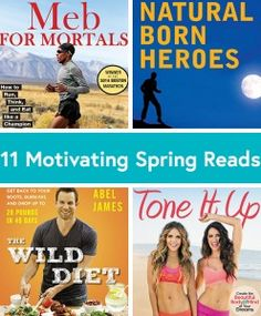 11 Must-Read Books for Runners, Yogis and Food Lovers