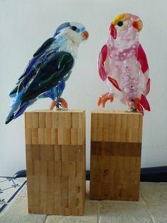 Lov(U)Birds glasfusing made by Glass@Home