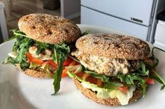 Salmon Burgers, Food And Drink, Healthy Recipes, Baking, Ethnic Recipes, Fitness, Per Diem, Lunches, Health Recipes