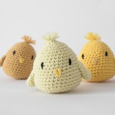 E-opskrift - Hæklede kyllinger Amigurumi Patterns, Doll Patterns, Amigurumi Toys, Doll Toys, Baby Dolls, Felt Crafts, Diy And Crafts, Crochet Animals, Knit Crochet
