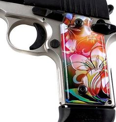 SPD Acrylic Custom Grips Sig Sauer P238 Left Side Safety Twisted Lily  Loading that magazine is a pain! Get your Magazine speedloader today! http://www.amazon.com/shops/raeind
