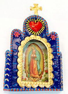 mexican tin nicho