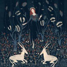 O misticismo feminino na arte de Alexandra Dvornikova #timbeta #sdv #betaajudabeta