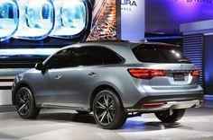 Комфортная 2014 Acura MDX Prototype