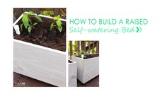 How to Build a Raised Sub-Irrigation Bed