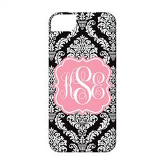 Personalized Cell Phone Case-Damask