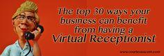 http://courteouscom.com/blog/virtual-receptionist  #businessadvice #virtualreceptionist #smallbusiness