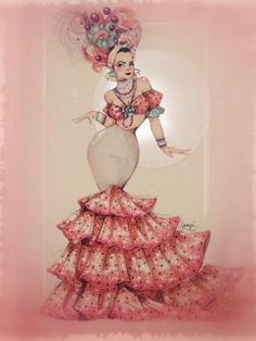 Carmen Miranda, illustration, draw, art, retro, hollywood