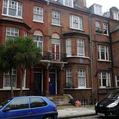 The home of composer Sir Edward Elgar -  51 Avonmore Road, W14