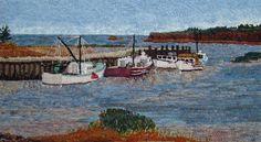 Medford High Tide by Suzanne Gunn