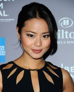 Jamie Chung False Eyelashes - Jamie Chung attended the 2012 Tribeca Film Festival wearing a pair of false lashes and pearly ivory eye shadow.