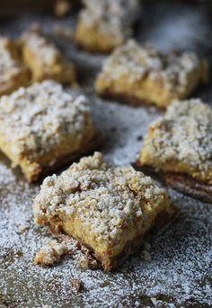 Pumpkin Streusel Cheesecake Squares | POPSUGAR Food