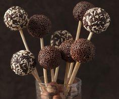 Rezept: Schoko-Cake-Pops (Cheese Bites)