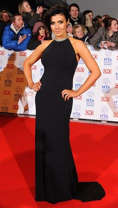 b0e778cc956 Kym Marsh wearing Gorgeous Couture for the National Television Awards.