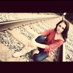 Photoshoot on train tracks with the BOTS