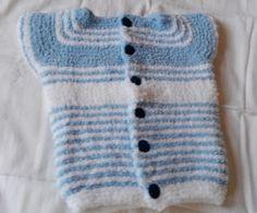 Kuschelweste hellblau Sweaters, Fashion, Sleeveless Sweaters, Light Blue, Cuddling, Hand Crafts, Vest, Tops, Clothing