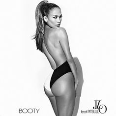 "If you've got it, flaunt it! The saying especially rings true if you're Jennifer Lopez, who's showing off her world-famous assets for the cover of her new single, ""Booty."" J.Lo revealed the steamy art on Instagram, adding a few choice hashtags for good measure: """