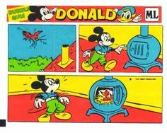 Historyjka Donald nr 28 w Muzeum użytkownika Symbols And Meanings, Comic Pictures, Chewing Gum, Child Life, Bubble Gum, Disney Characters, Fictional Characters, Snoopy, Holiday