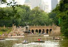 Where to rent row boats in Central Park