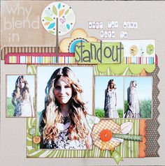 Born to Stand Out by Beth Gerlach - Scrapbook.com