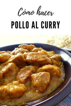 How to make chicken curry, Delicious Vegan Recipes, Yummy Food, Healthy Recipes, Crockpot Recipes, Chicken Recipes, Comida India, Dessert, Popular Recipes, Food Videos