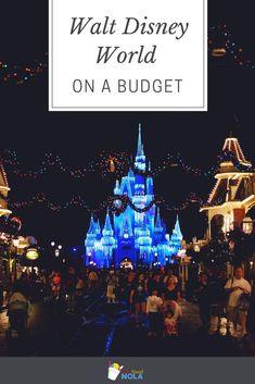 Walt Disney World On a Budget
