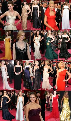 I haven't seen the movies but I can't wait to see the Academy Award dresses!