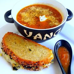 Inspired By eRecipeCards: Farmer's Market Tomato Soup... um, Bisque and a Beauty Tip