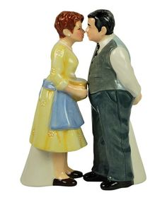 Take a look at this Westland Gifts Mr. & Mrs. C Salt & Pepper Shakers by Film & TV Classics: Kitchen Accents on #zulily today!