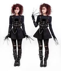 Women's Edward Scissorhands costume