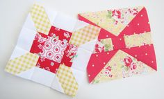 farmers wife quilt blocks. great colours