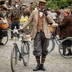 Tweed Run, Stockholm.