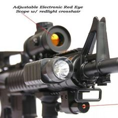 Red Dot Laser with Mount fits all RIS system, M4 G36 SG 552 by Unknown. $22.94. Fits All RIS system. Replacement part for our best seller M16 M4 from double eagle (M83) Product Link: http://www.amazon.com/gp/product/B000F2WVDW/qid=1151947707/sr=1-1/ref=sr_1_1/103-5567909-7446212?%5Fencoding=UTF8=sporting-goods=glance=3375251