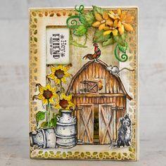 Heartfelt Creations - Sunflowers on the Farm