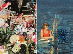 Ben Giles alters vintage and fashion photographs to create the most fabulously eccentric collages. Honestly, so good.