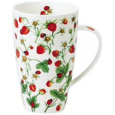 Dunoon Dovedale Strawberry Henley shape Mug | Temptation Gifts