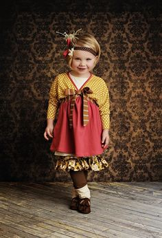 Persnickety Clothing - Rosie Tunic in Gold