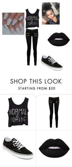 """Being weird is amazing"" by shay-t4l on Polyvore featuring Paige Denim, Vans, Lime Crime and love"