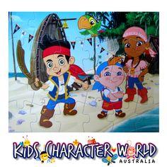 Disney Junior's Jake and the Neverland Pirates 24pc Lenticular Puzzle (Cardinal) $9.95 (eBay Store: kidscharacterworld2013 email: kidscharacterworld@live.com.au) http://www.ebay.com.au/itm/Jake-and-the-Neverland-Pirates-Jigsaw-Puzzle-24pc-Lenticular-Kids-Childrens-Boy-/171376681544?