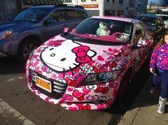 Nice Hello Kitty Paint Job