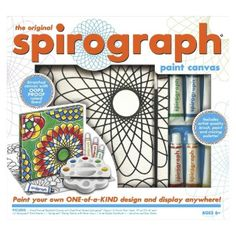 I'm learning all about Spirograph Paint Canvas at @Influenster!