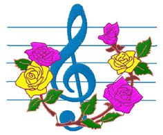 #embroidery #embronetto  Music Embroidery Designs 04: Treble