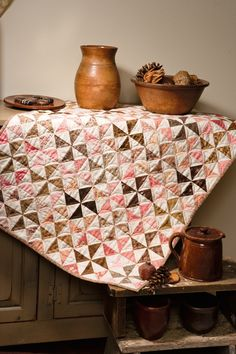 Martingale - Nothing but Pinwheels Table Topper