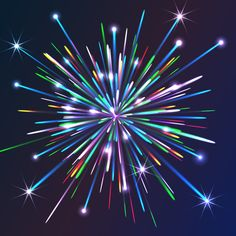 In this Illustrator tutorial we will create vector firework and will learn how to recolor it in different colors. You will also find out how to prepare this vector artwork for sale on microstocks. Enjoy our new tutorial! Adobe Illustrator Tutorials, Photoshop Illustrator, Design Tutorials, Art Tutorials, Blend Tool, Graphic Art, Graphic Design, Web Design, Draw On Photos