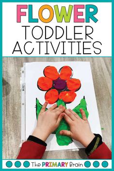 Spring toddler sensory play activities are so fun for a 2 to 3 year old child. Engage your child in learning through flower toddler activities, fine motor for preschoolers, preschool math lessons, toddler lesson plans, and gross motor activities for 2 year olds. All activities can be found in my Flower Toddler School Curriculum. Activities For 2 Year Olds, Gross Motor Activities, Literacy Activities, Preschool Activities, Toddler School, Toddler Play, Tot School, Lesson Plans For Toddlers, Preschool Math