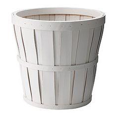 IKEA - KALASA, Plant pot, , A plastic inner pot makes the plant pot waterproof.
