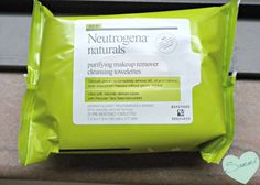 Review: Neutrogena Naturals Purifying Makeup Remover Cleansing Wipes on Sammi the Beauty Buff blog