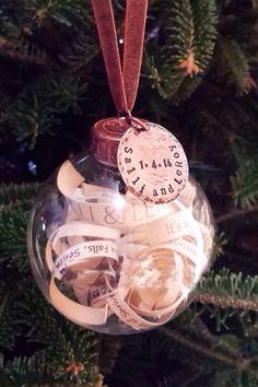 Personalized Wedding Ornament, Wedding Invitation Ornament, First  Christmas, Bride U0026 Groom Keepsake, Memory Ornament For Bride And Groom |  Custom Wedding ...